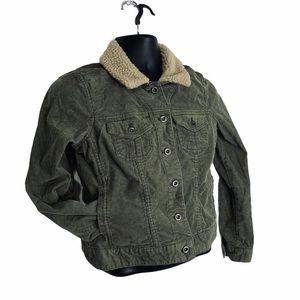 Sonoma • Women's Cotton Blend / Faux Fur Jacket